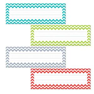 Chevron Solids Nameplates
