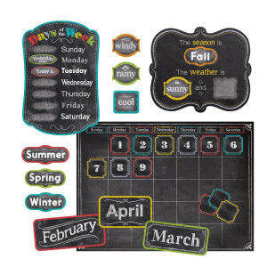 Chalk It Up! Calendar Bulletin Board