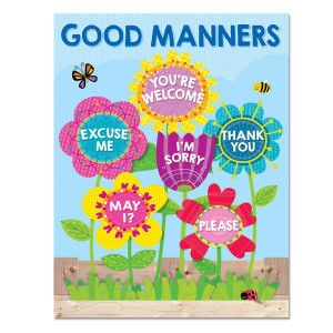 Garden of Good Manners Poster
