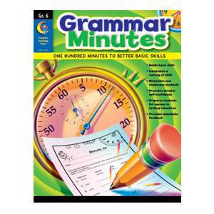 Grammar Minutes Book Grade 6
