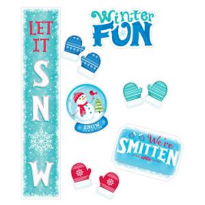 Snow Much Fun! Bulletin Board