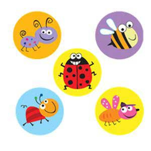 Bugs Incentive Stickers