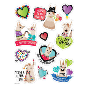 Llama Be My Valentine? Stickers