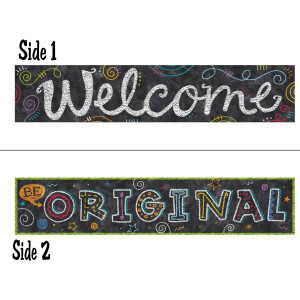 Chalk It Up! 2-Sided Banner