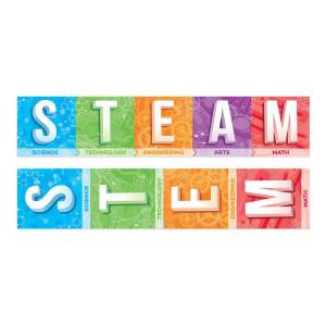 STEM/STEAM 2-Sided Banner