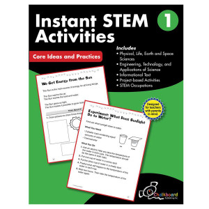 STEM Instant Activities Book-Grade 1