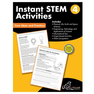 STEM Instant Activities Book-Grade 4