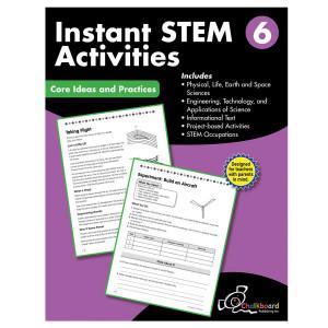 STEM Instant Activities Book-Grade 6