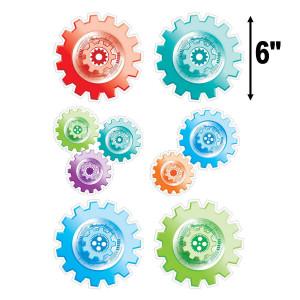 "Gears 6"" Cut-Outs"