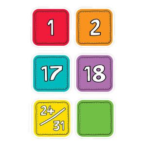 Colorful Calendar Days
