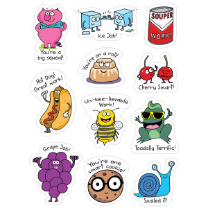 So Much Pun! Punny Rewards Stickers