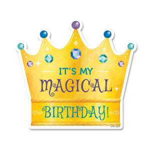 Mystical Magical It's My Magical Birthday Badges