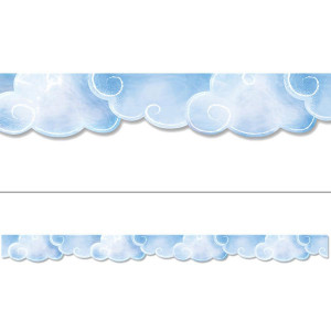 Mystical Magical Clouds Border