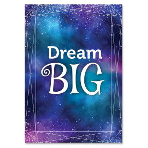 Mystical Magical Dream Big Inspire U Poster