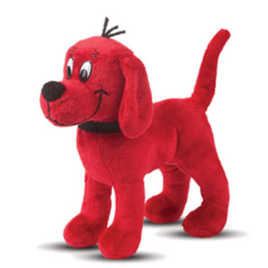 "8"" Standing Clifford Cuddle Pal"