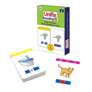 Unifix Reading Early Phonics Word-Building Cards