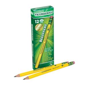 Ticonderoga Beginner Pencils-12 Pack