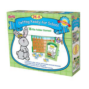 Getting Ready School File Folder Games to Go PK-K