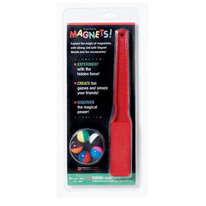 Magnet Wand / 5 Marbles