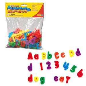 Magnetic Alphabet & Numbers