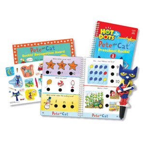 Hot Dots Jr Pete the Cat Preschool Rocks! Set