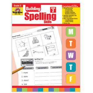 Building Spelling Skills Book Grade 2