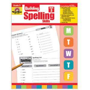 Building Spelling Skills Book Grade 3