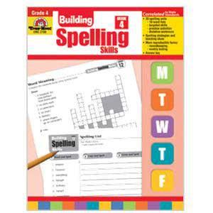 Building Spelling Skills Book Grade 4
