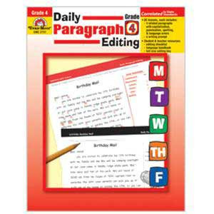 Daily Paragraph Editing Book Grade 4