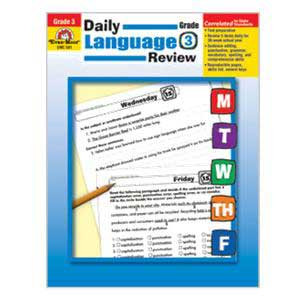 Daily Language Review Book Grade 3