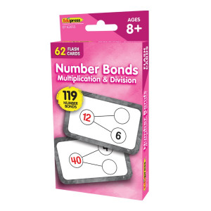 Number Bonds-Multiplication & Division Flash Cards