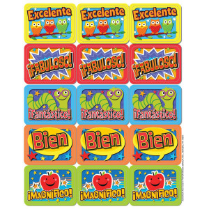 Spanish Theme Stickers