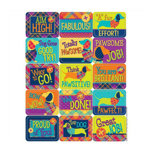 Plaid Attitude Stickers