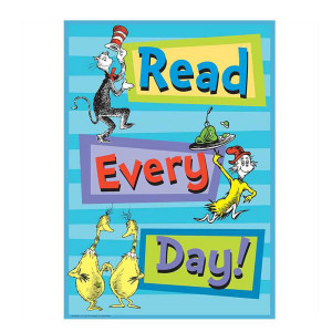 Dr Seuss Read Every Poster