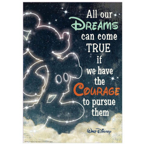 Disney All Our Dreams Poster