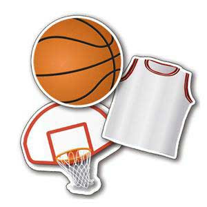Basketball Assorted Cut-Outs