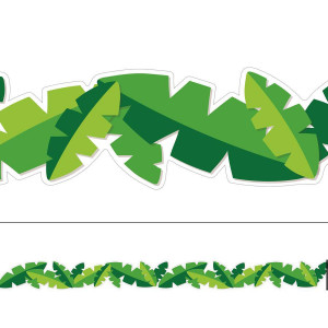You-Can Toucan Leaves Extra Wide Border