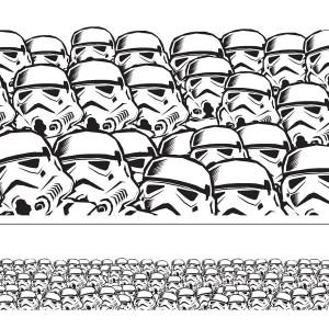 Star Wars Super Troopers Border