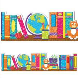 Color My World Books Border
