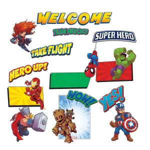 Marvel Super Hero Welcome Bulletin Board