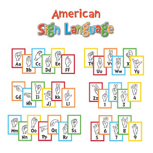 Dr Seuss Sign Language Alphabet Mini BB
