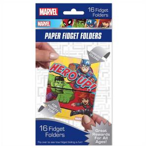 Marvel Super Hero Adventure Fidget Folders