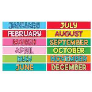 Monthly Calendar Cards
