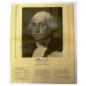 George Washinton Portrait Poster in Tube