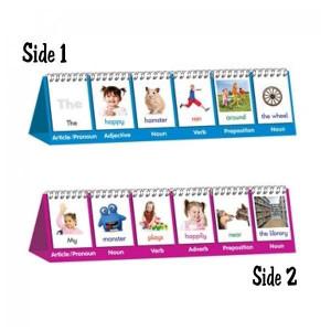 Parts of Speech Flips-Flip Chart Stand