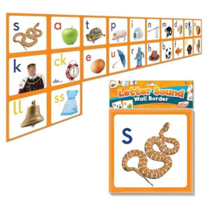 Letter Sound Wall Cards