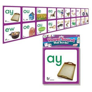 Vowel Sound Wall Cards