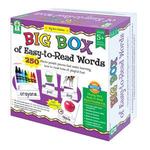 Big Box of Easy-to-Read Words - Ages 5+