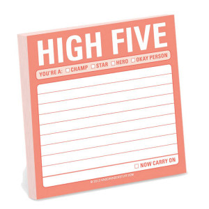 High Five Sticky Note