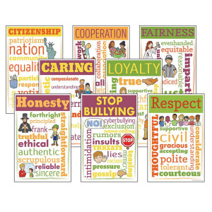 Character Education Chatter Charts